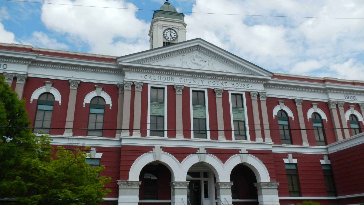 Calhoun County Alabama Courthouse