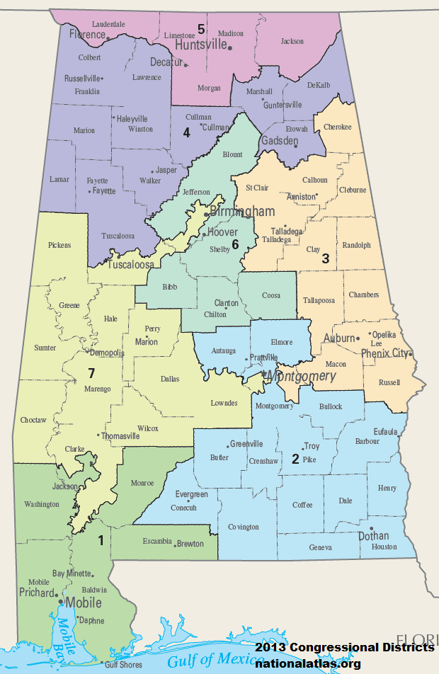 Alabama Congressional Districts, 113th_Congress