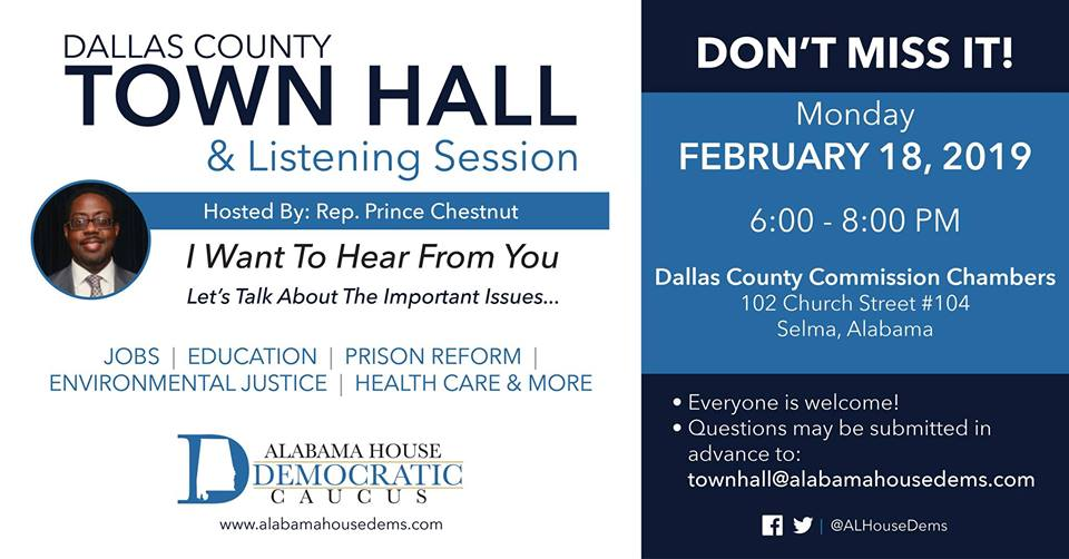 Dallas County Town Hall & Listening Session