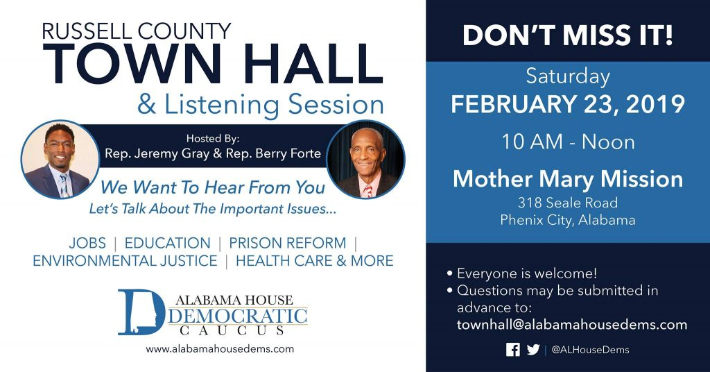 Russell County Town Hall & Listening Session