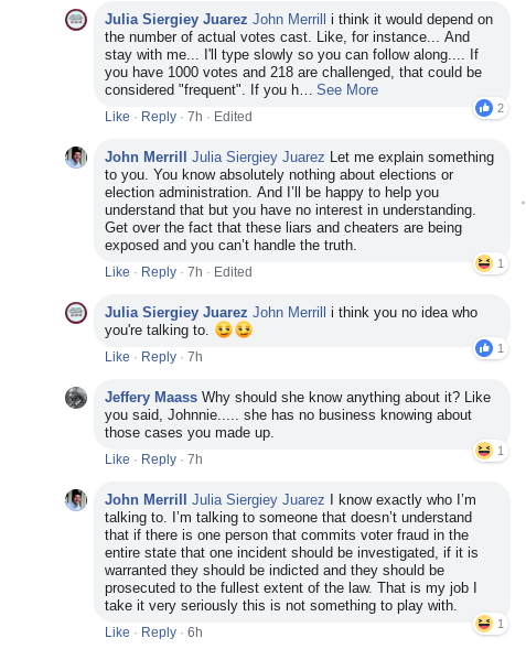 John Merrill Facebook Debate 02-14-19