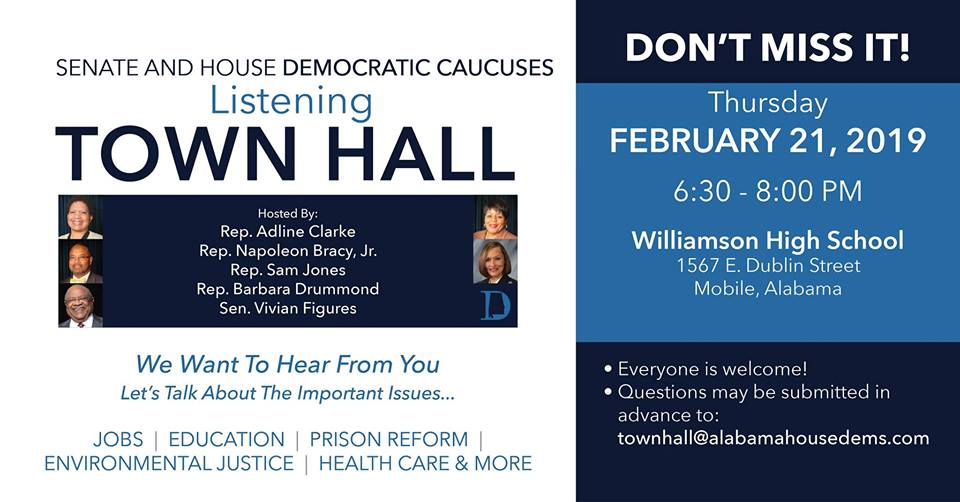 Senate and House Democratic Caucuses Listening Town Hall