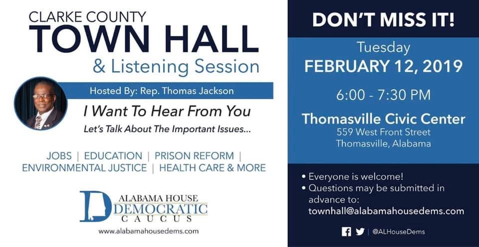 Clarke County Town Hall & Listening Session