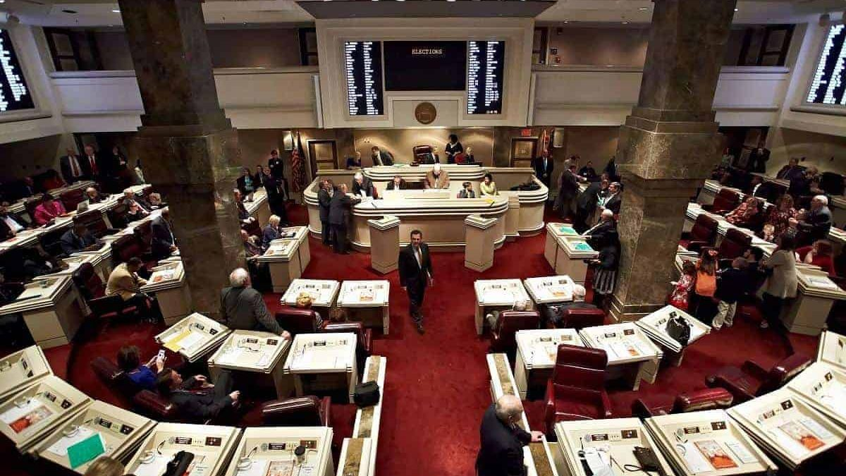 Alabama House of Representatives Chambers