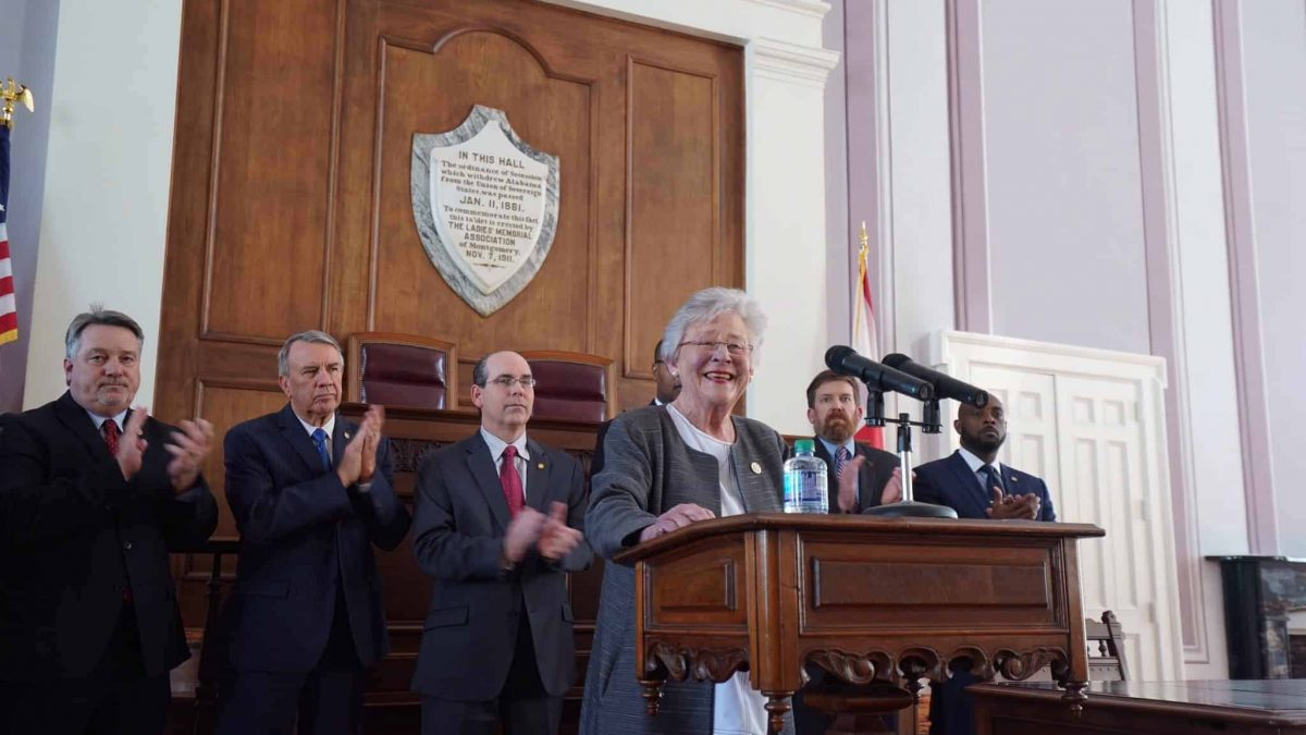 Kay Ivey Announces Signing of Rebuild Alabama Act