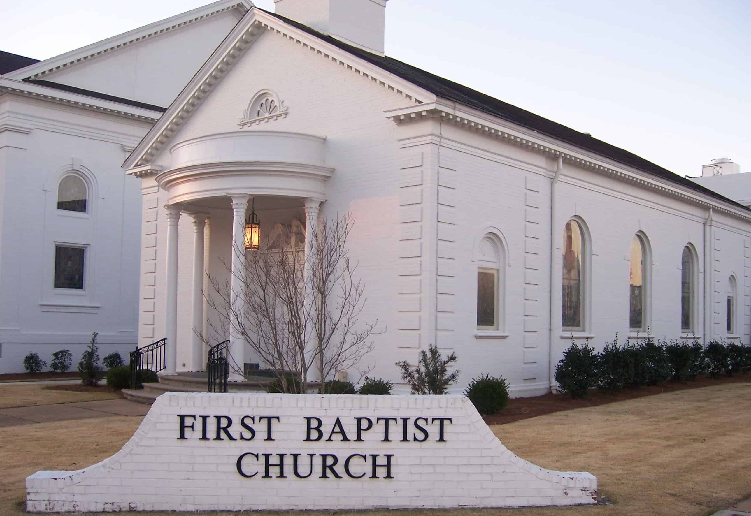 First Baptist Church In Opelika, Alabama