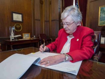 Governor Kay Ivey Signs Abortion Ban