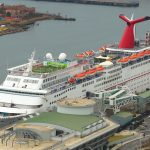 Carnival Fantasy Docked in Mobile, AL